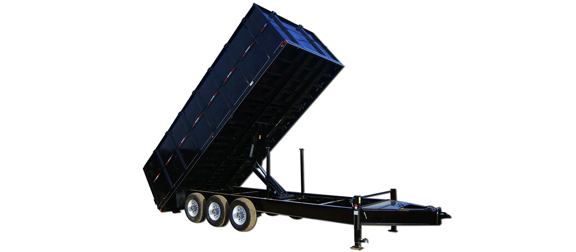 21,000 GVW Original Series High Deck Dump Trailer