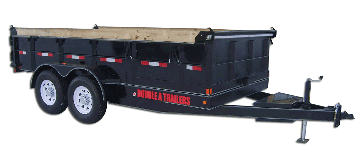 14,000 GVW Original Series Lowboy Dump Trailer