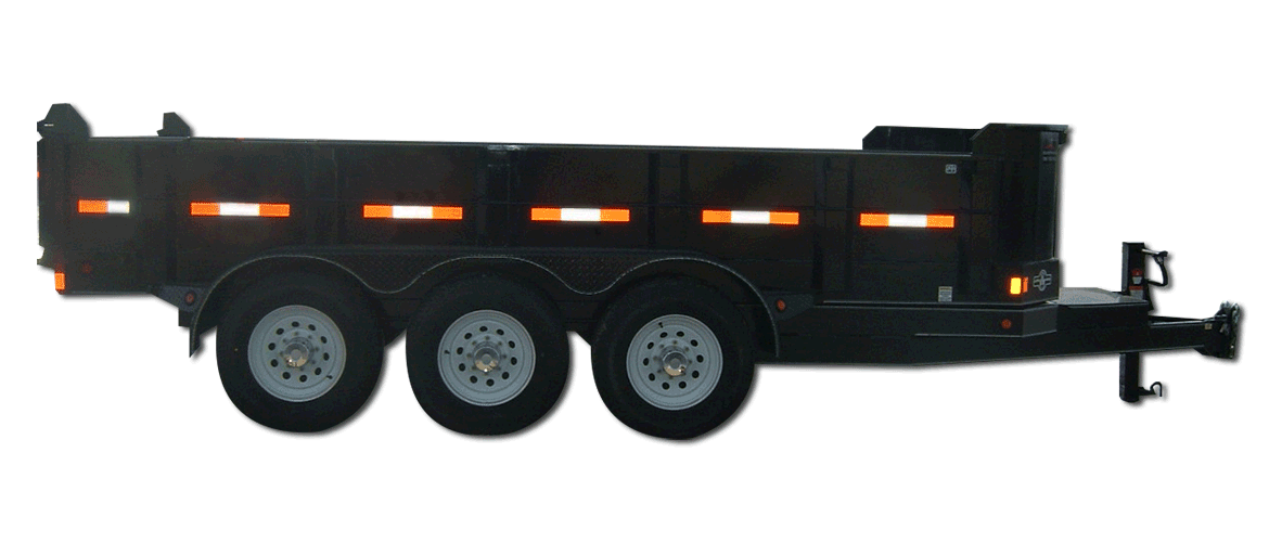 21,000 GVW Original Series Lowboy Dump Trailer