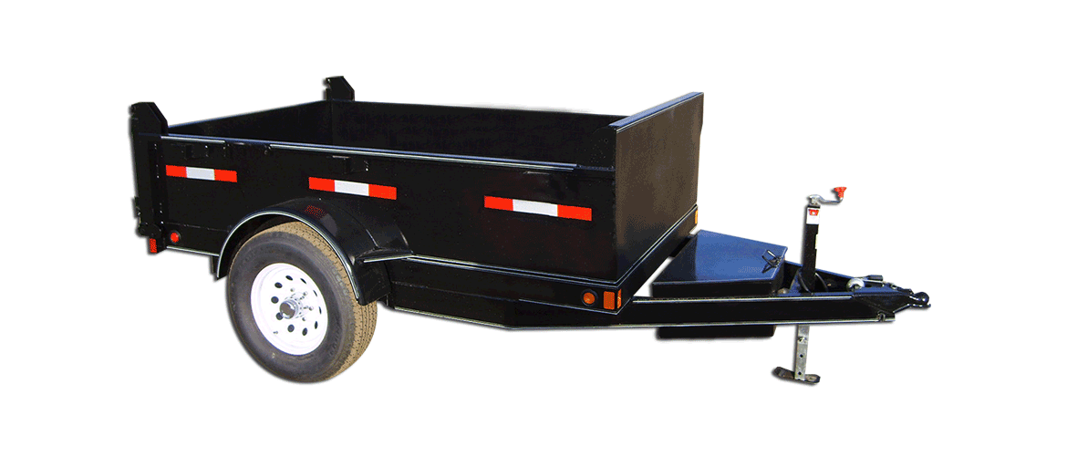 5,000 GVW Original Series Low Profile Dump Trailer