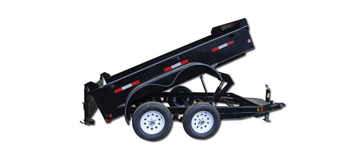 7,000 GVW Original Series Low Profile Dump Trailer