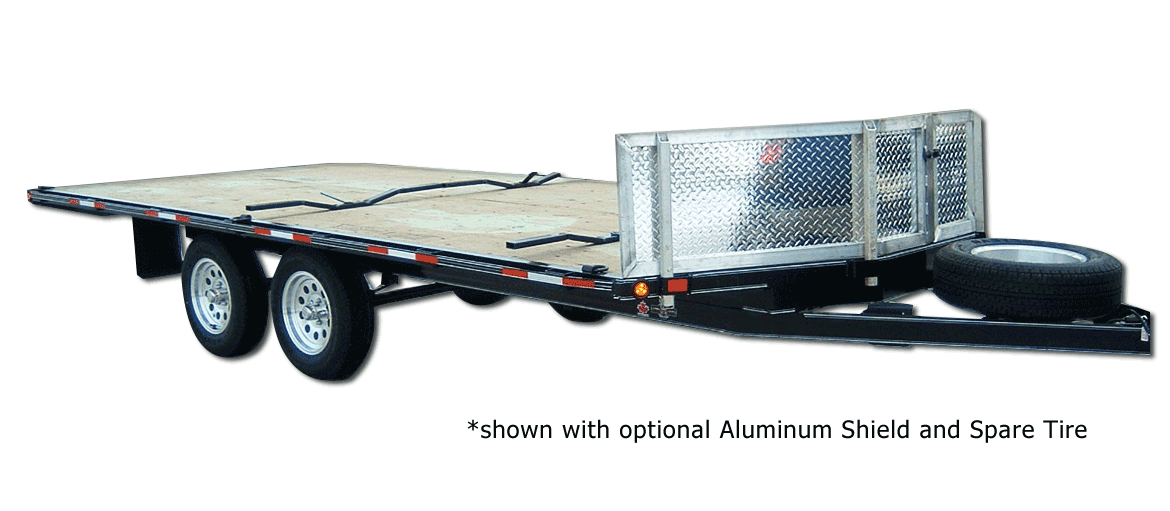 7,000 GVW Original Series Tubing ATV Trailer