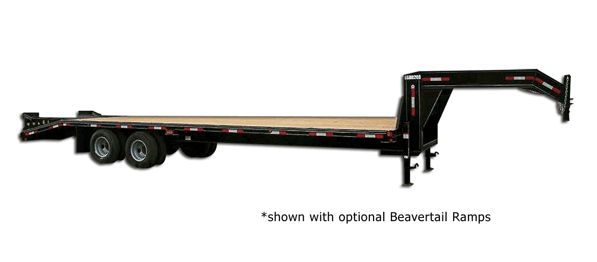 20,000 GVW Excel Series Gooseneck Highboy Trailer