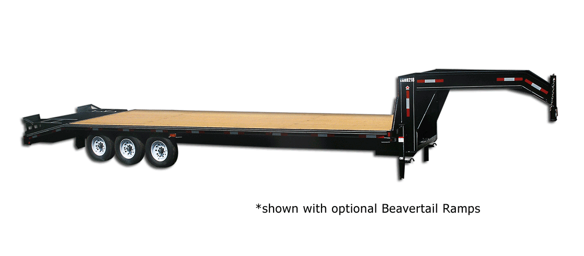 21,000 GVW Excel Series Gooseneck Highboy Trailer