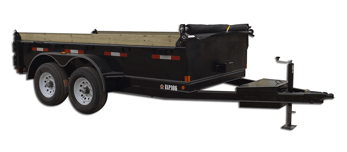 10,000 GVW Excel Series Low Profile Dump Trailer