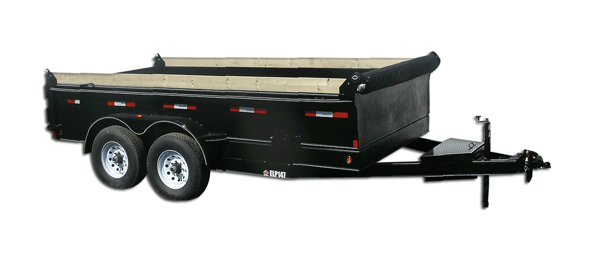 14,000 GVW Excel Series Low Profile Dump Trailer