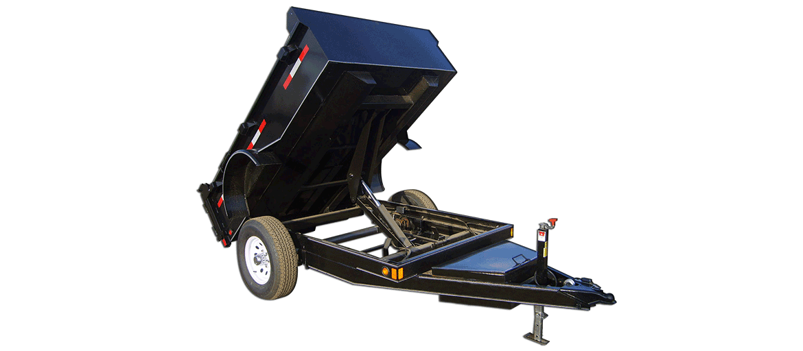5,000 GVW Excel Series Low Profile Dump Trailer