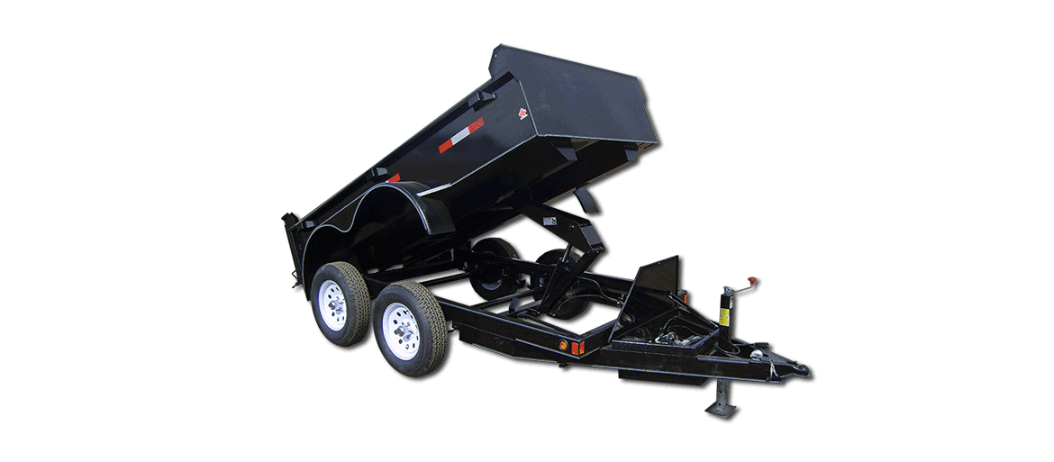 7,000 GVW Excel Series Low Profile Dump Trailer