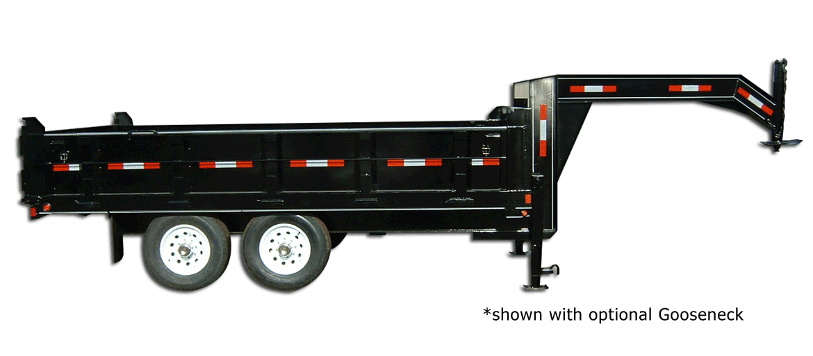 14,000 GVW Excel Series High Deck Dump Trailer