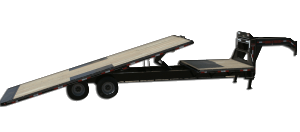 Gooseneck Highboy Tilt Trailer