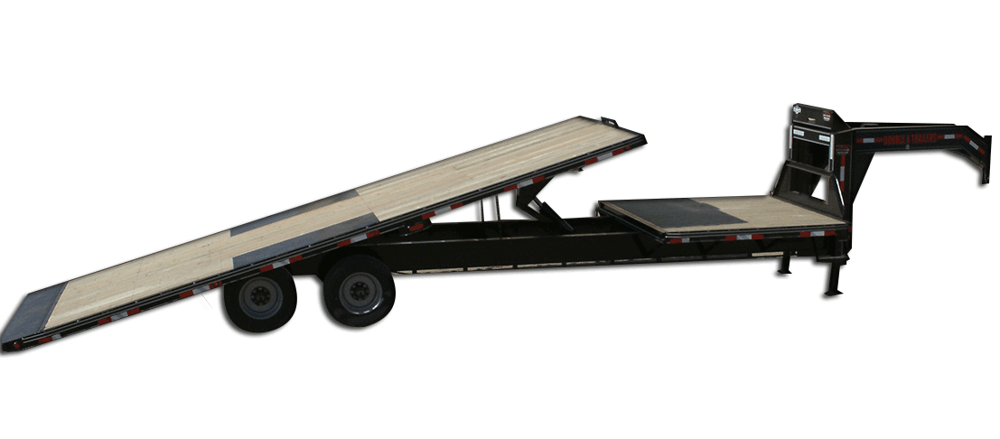 20,000 GVW Original Series Gooseneck Highboy Tilt Trailer