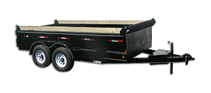 Low Profile Dump Trailer
