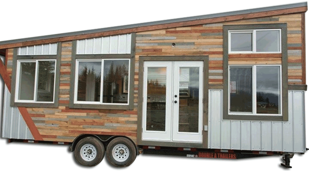 14,000 GVW Tiny Home Trailer