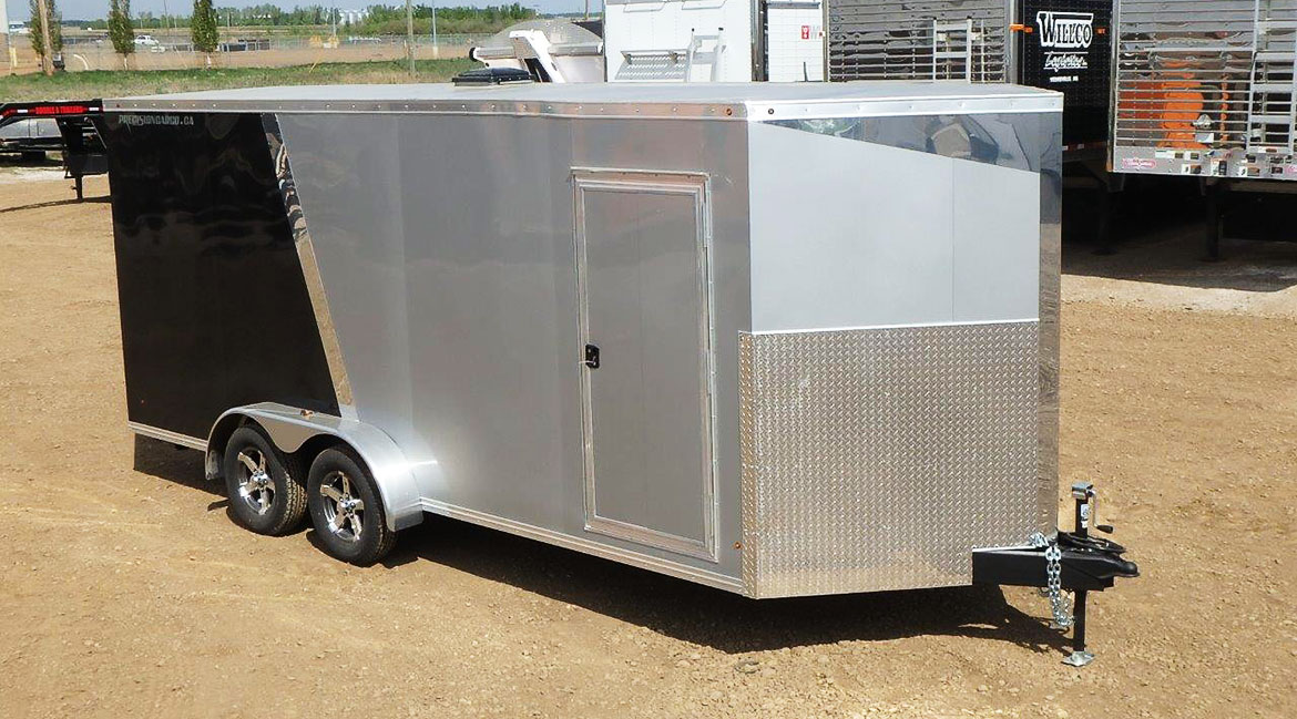 Enclosed 7' Wide Trailer