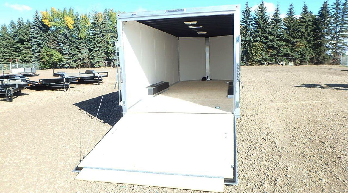 8 5 U2032 Wide Enclosed Trailer