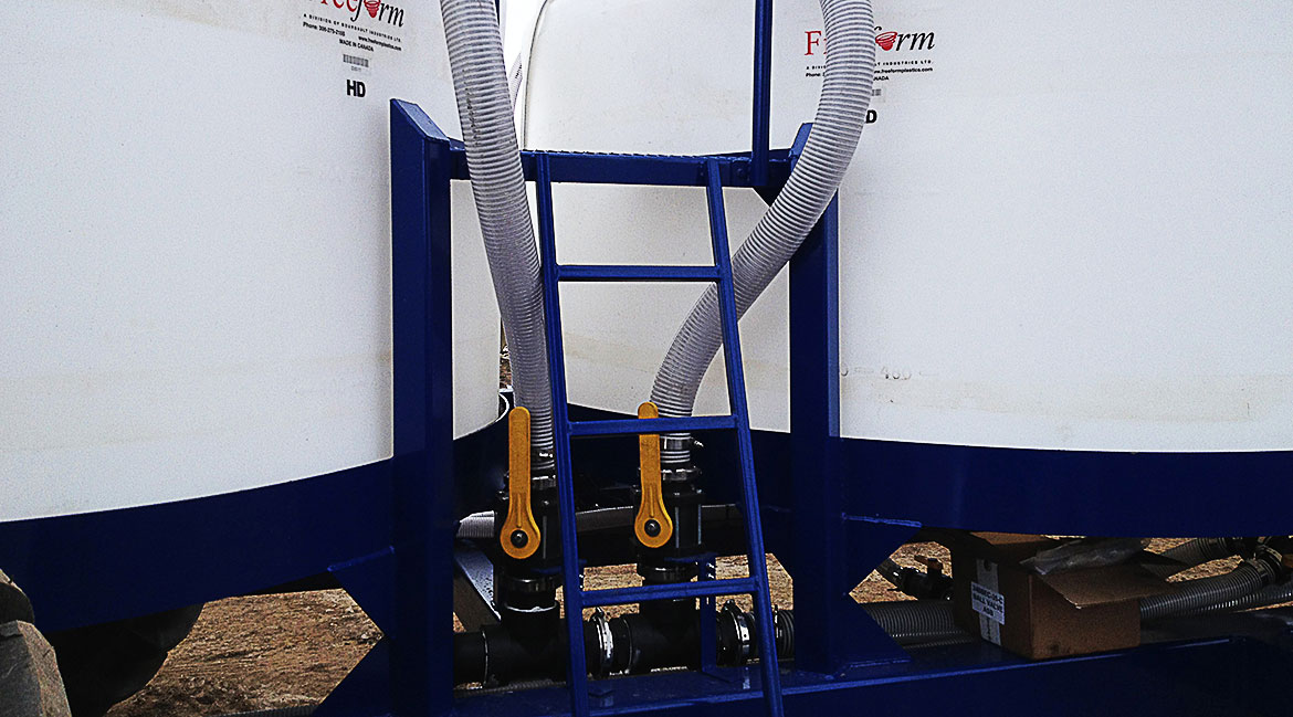Liquid Fertilizer Cart Pump