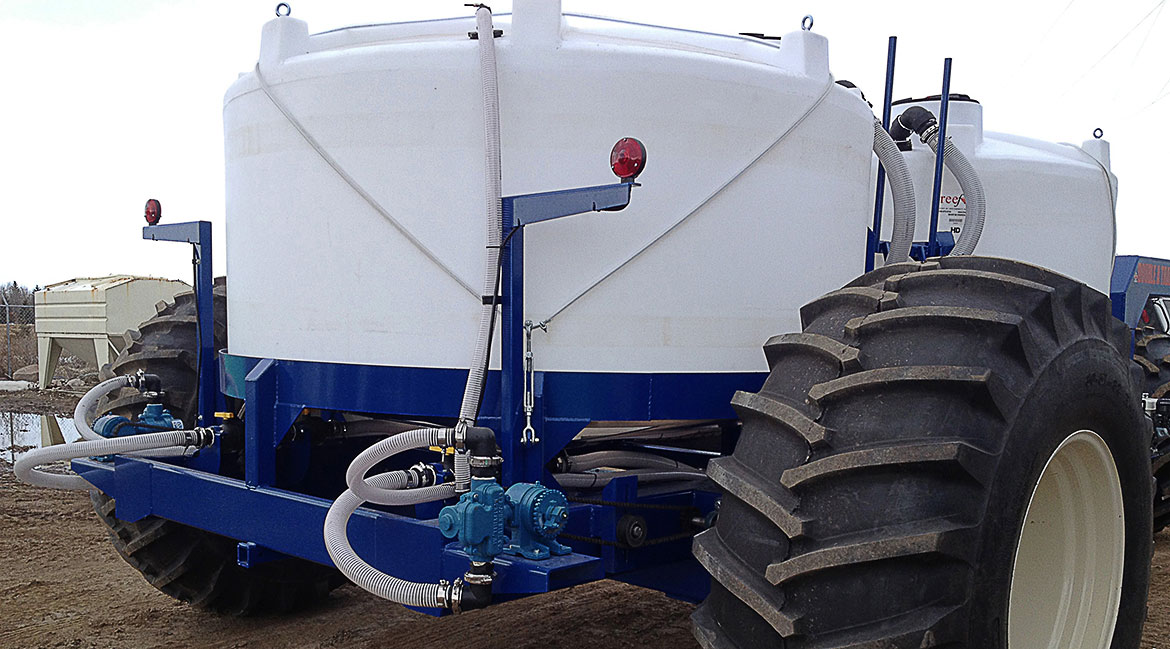 3500 or 4650 Gal Liquid Fertilizer Cart